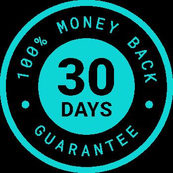 30 Days Money Back Badge
